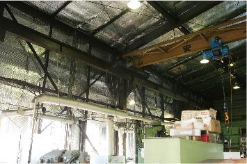 工場の遮熱施工